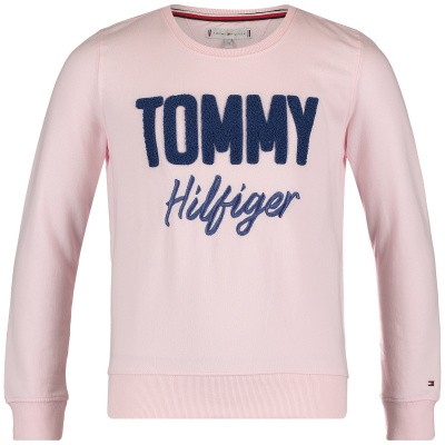 Picture of Tommy Hilfiger KG0KG04040 kids sweater light pink