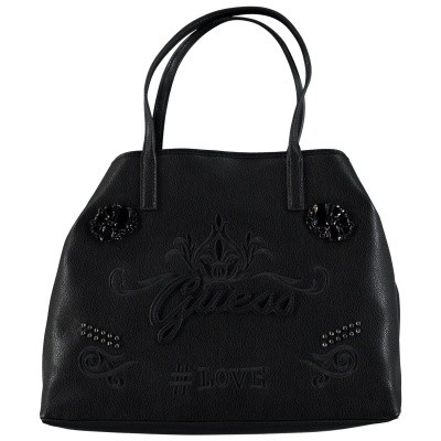 Picture of Guess HWEJ6995240 womens bag black