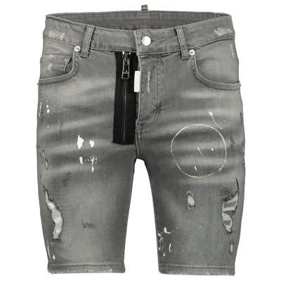Afbeelding van My Brand MMBJE0071K heren shorts jeans