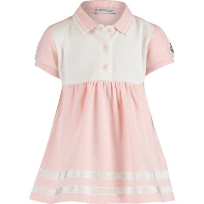 Picture of Moncler 8574105 baby dress light pink