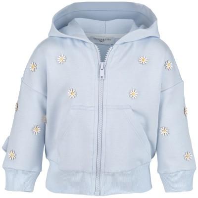 Picture of MonnaLisa 393801AM baby vest light blue