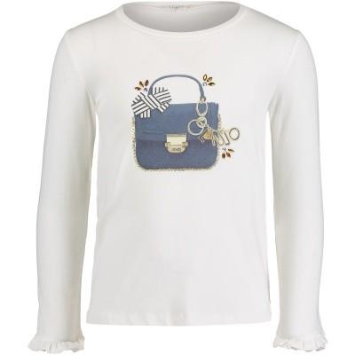 Afbeelding van Liu Jo K68052 kinder t-shirt off white