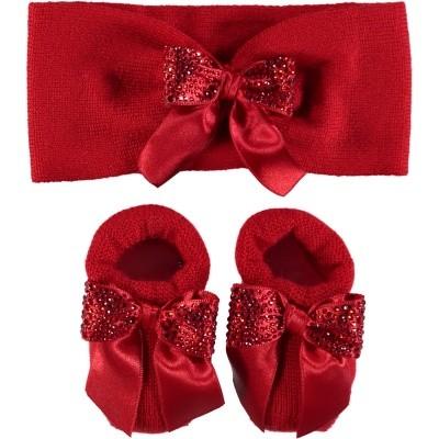 Afbeelding van La Perla 48547 babysetje rood