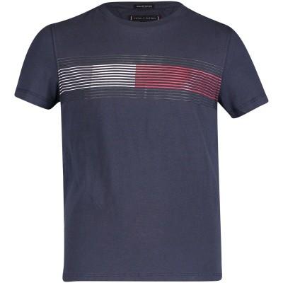 Afbeelding van Tommy Hilfiger KB0KB04459 kinder t-shirt navy