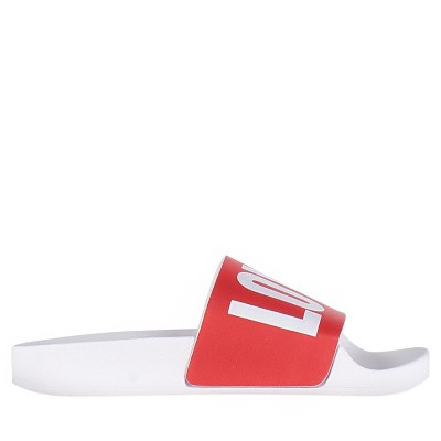 Picture of The White Brand K013 kids flipflops red