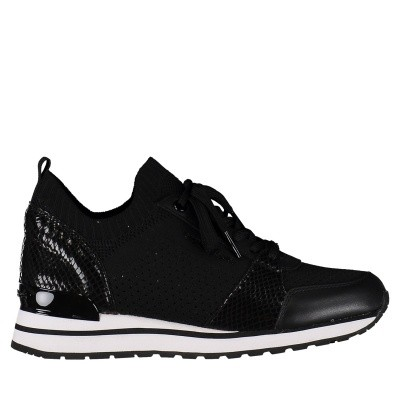 Afbeelding van Michael Kors 43T8BIFS2D dames sneakers zwart