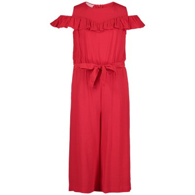 Picture of Liu Jo G19099 kids jumpsuit red