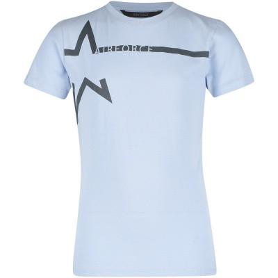 Afbeelding van Airforce B0592 kinder t-shirt licht blauw