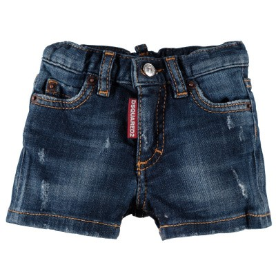 Picture of Dsquared2 DQ00WG D00TG baby shorts jeans