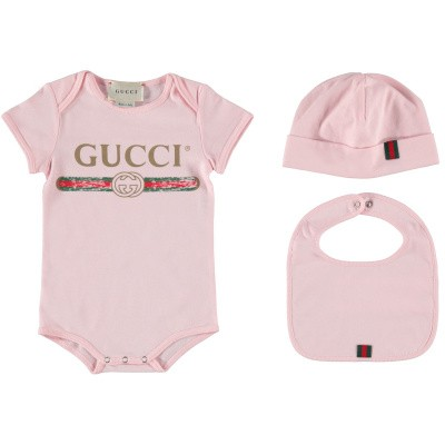 Picture of Gucci 516326 rompersuit light pink