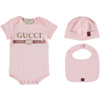 Afbeelding van Gucci 516326 rompertje licht roze