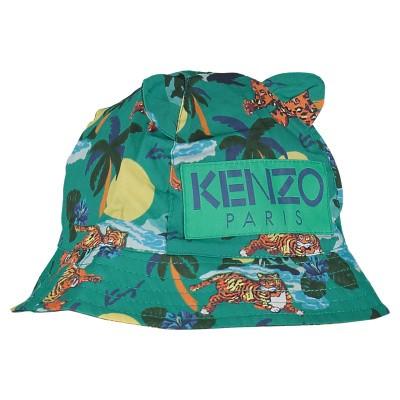 Afbeelding van Kenzo KN90507 baby hoedje groen