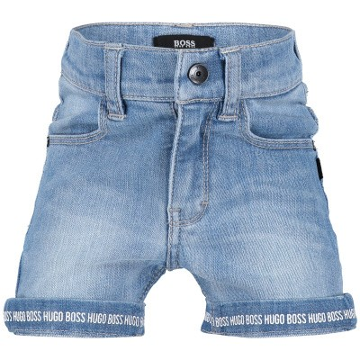 Picture of Boss J04343 baby shorts jeans