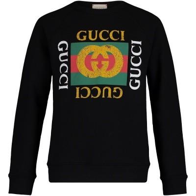 Afbeelding van Gucci 483878 kindertrui zwart