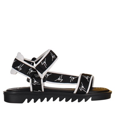 Picture of Guiseppe Zanotti SBE9107/9407 kids sandals black