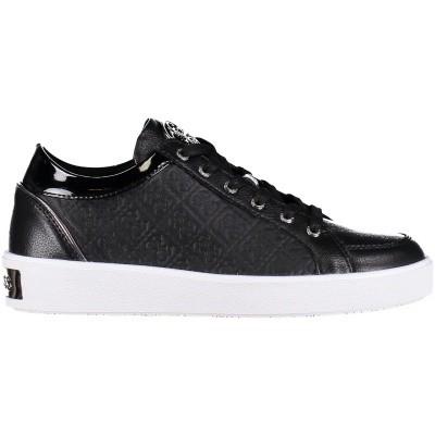 Afbeelding van Guess FLGLN3LEP12 dames sneakers zwart