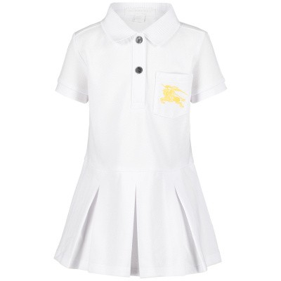 Picture of Burberry 8005744 baby dress white