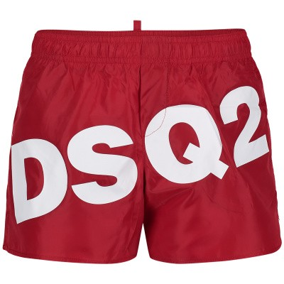 Photograph of Dsquared2 DQ03BK kids swimwear red