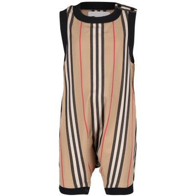 Picture of Burberry 8011195 baby playsuit beige