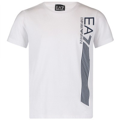 Afbeelding van EA7 3GBT60 kinder t-shirt wit