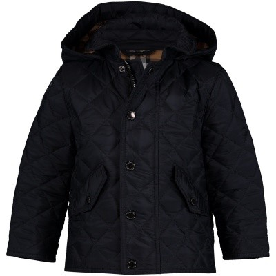 Picture of Burberry 8003471 baby coat navy