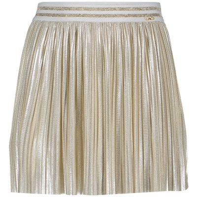 Picture of Liu Jo K19080 kids skirt gold