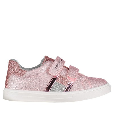 Picture of Tommy Hilfiger 30287 kids sneakers light pink