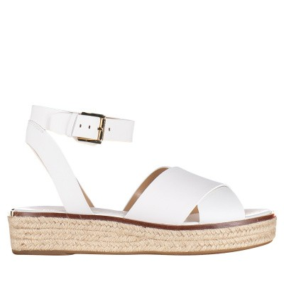Picture of Michael Kors 40S9ABFA1L womens sandals white