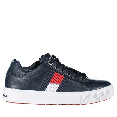 Picture of Tommy Hilfiger T3B430099 kids sneakers navy