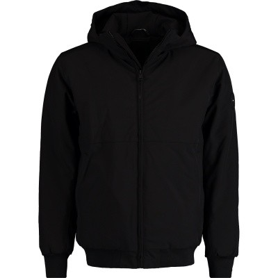 Picture of Airforce HR82M0341 mens coat black