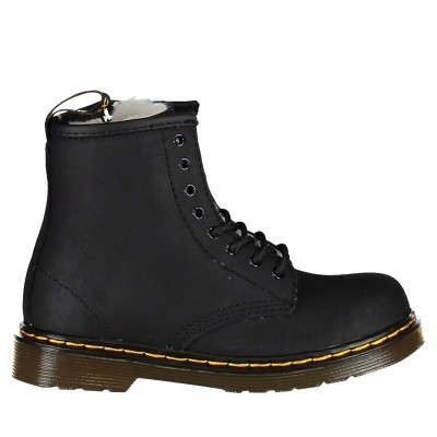 Picture of Dr. Martens 24079001 kids boots black