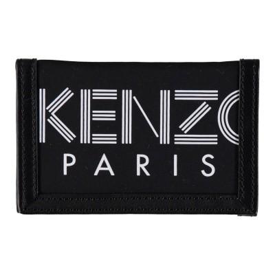 Afbeelding van Kenzo F865PM210F24 heren portemonnee zwart