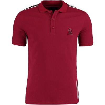 Picture of Believe That BLVTPO180602 mens polo shirt bordeaux