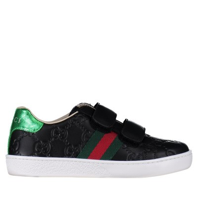 Picture of Gucci 455448 DF720 kids sneakers red