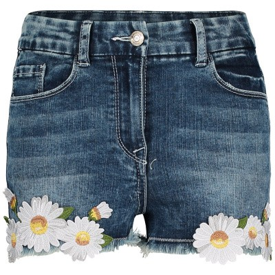 Picture of MonnaLisa 193401R1 kids shorts jeans