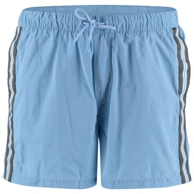 Picture of Airforce M0562 mens swimshorts light blue