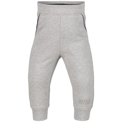 Picture of Boss J04P01 baby pants grey