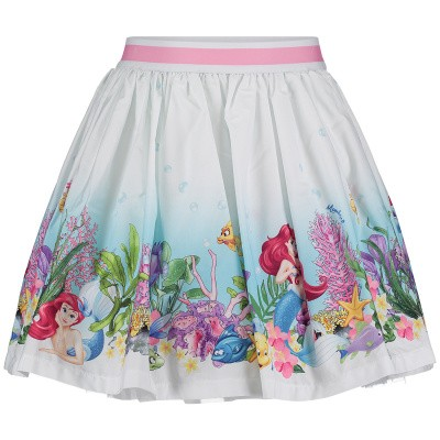 Picture of MonnaLisa 113706 kids skirt white