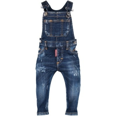 Picture of Dsquared2 DQ02XK baby pants jeans