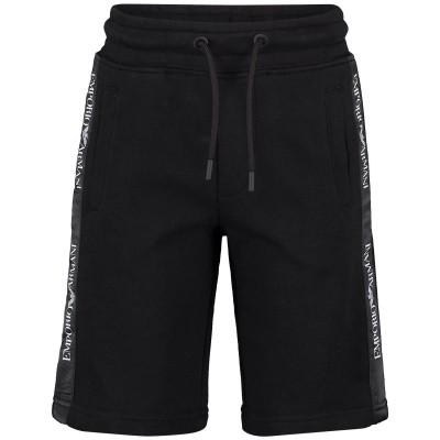 Picture of Armani 3G4SJ7 kids shorts black