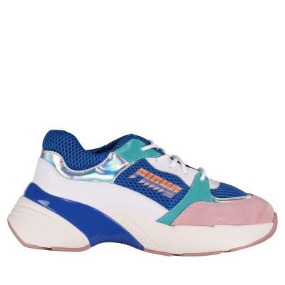 Afbeelding van Pinko 1H20LZ dames sneakers cobalt blauw