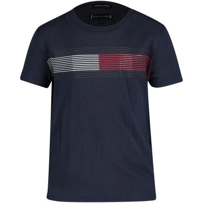Afbeelding van Tommy Hilfiger KB0KB04459B baby t-shirt navy