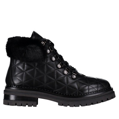 Picture of Stokton BLK17 mens boots black
