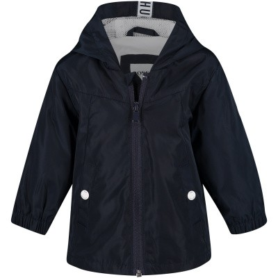 Picture of Boss J06192 baby coat navy