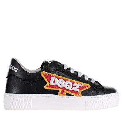 Picture of Dsquared2 59840 kids sneakers black