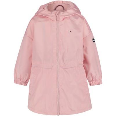 Picture of Tommy Hilfiger KG0KG04363 B baby coat light pink