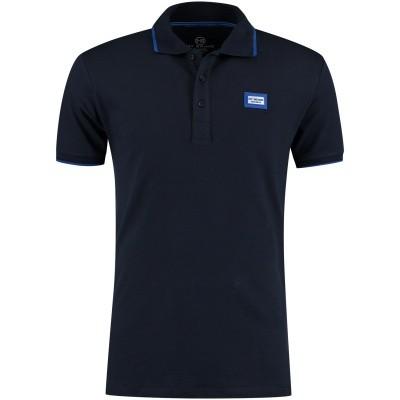 Afbeelding van My Brand MMBPO009G3014 heren polo navy