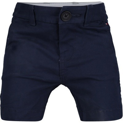 Picture of Tommy Hilfiger KB0KB04602B baby shorts navy