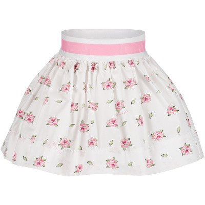 Picture of MonnaLisa 313703 baby skirt white