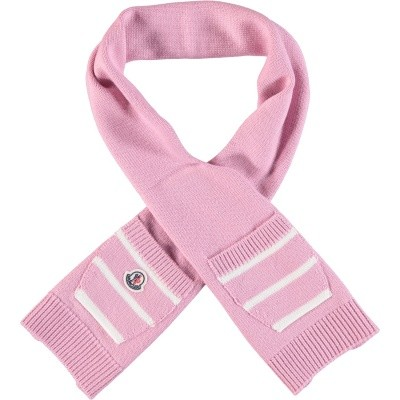 Picture of Moncler 9900305 baby scarf old pink